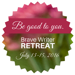 Brave Writer Retreat